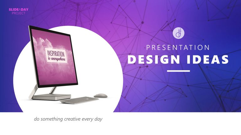 Design to Present: SlideADay Project