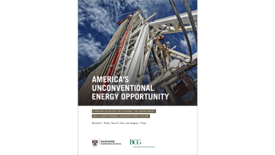 America's Unconventional Energy Opportunity
