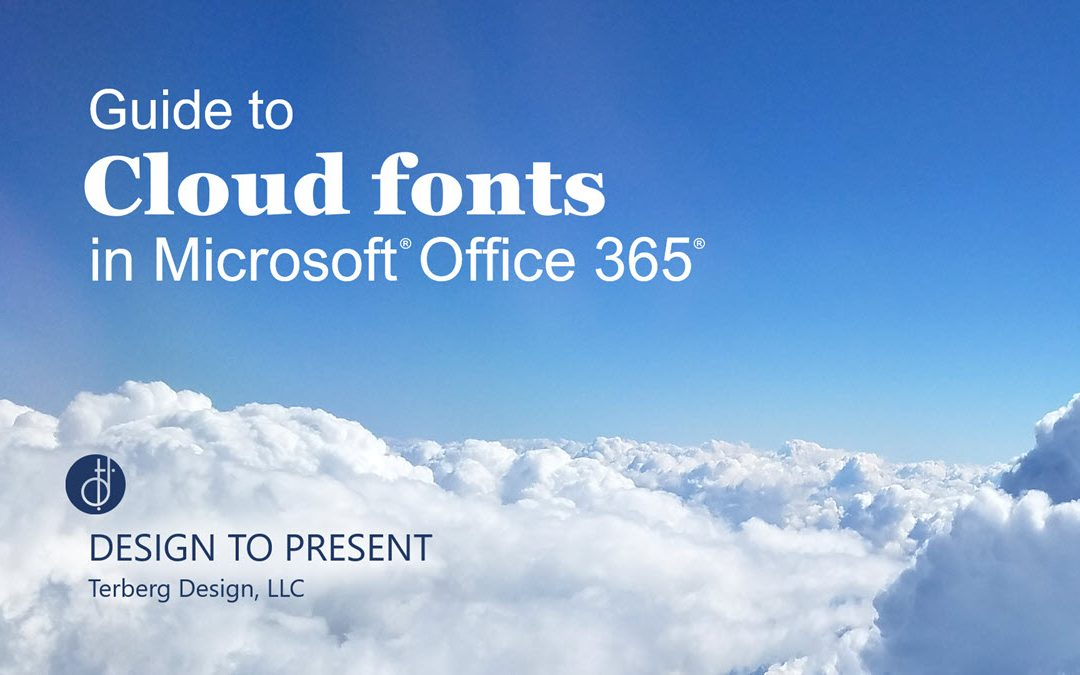A Guide to Cloud Fonts in Microsoft Office 365